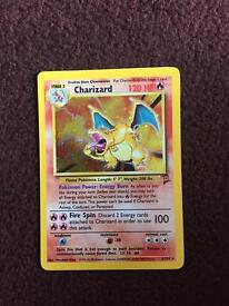 Charizard shiny second edition mint condition