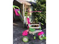 Girls pink / green SmarTrike
