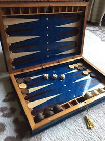 Italian luxury backgammon board