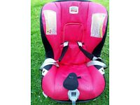 Brittax car seat, can be used to face either way, in excellent condition