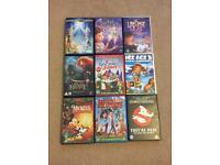 Christmas DVD bundle Tinkerbell Disney Ice age 3 Brave