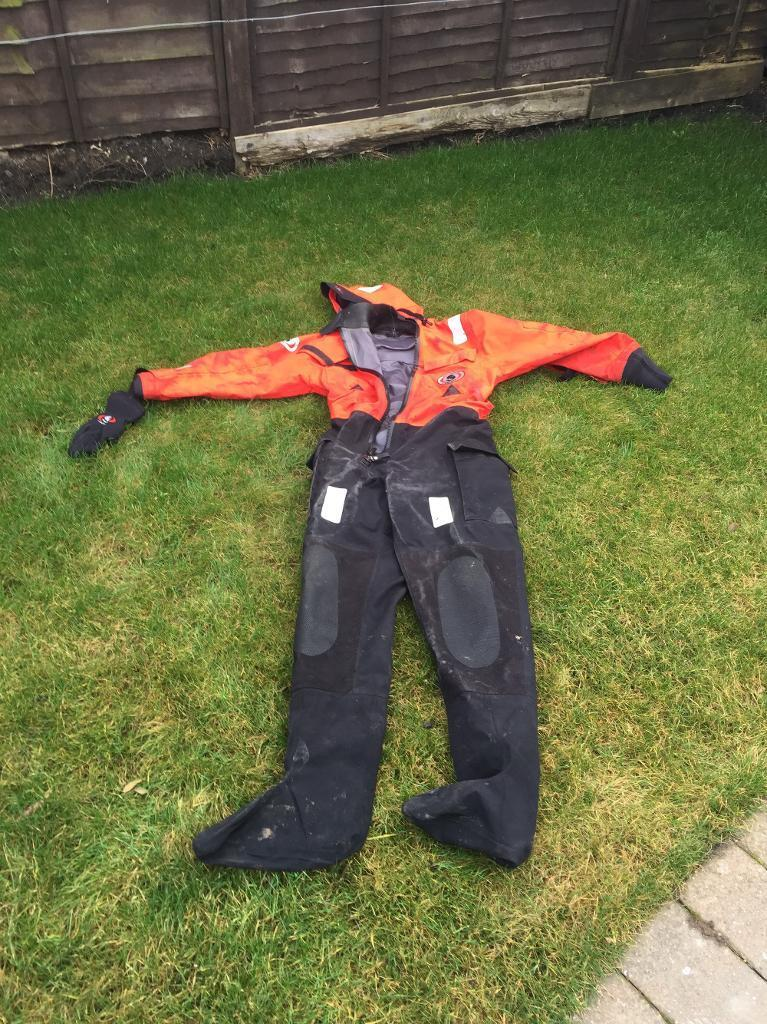 Ursuit offshore drysuitin Ashington, NorthumberlandGumtree - Selling my drysuit /immersion suit as no longer required as have no rib/boat These are one of the best drysuits and used in the offshore sector all over the world Ideal for boat fishing / kayak fishing etc Ive even used it for fishing on a rainy...