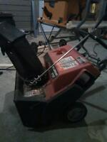 reduced   Small snowblower for decks and sidewalks