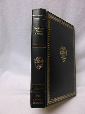 Harvard Classics Elizabethan Drama Book - Marlowe & Shakespeare 1969  Deluxe Ed.