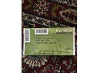 Runrig ticket for tonight £30