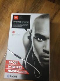 Jbl synchros wireless earphones boxed new