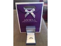 Platinum 3mm Court Shape Ladies Wedding Ring Size G £180