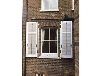 Provencal Original Window Shutters - 1105mm wide x 1780mm high