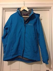 Mountain Warehouse Waterproof Outdoor 2 in 1 Jacket Size 14 New and Unworn BNWT