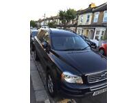 Automatic black Volvo XC90 SUV low mileage px considered