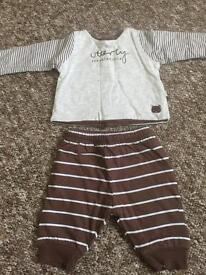 Mothercare baby outfit new baby