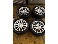 """15"""" SMART FORTWO ROADSTER ALLOY WHEELS SET OF 4"""