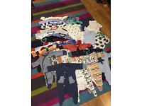 Boys first size clothes bundle from next