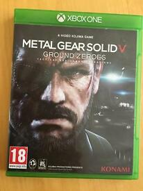 Metal gear 5 ground zero Xbox one