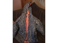 Girls rain coat age 6-7