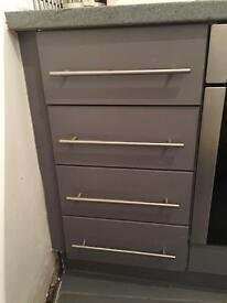 Kitchen Drawers with Soft Close Runners