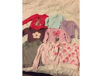 Bundle of girls clothes 12-18m