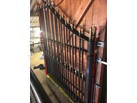 Pair of wought iron gates