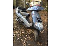 Piaggio 250 moped like Vespa etc nice project