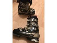 Salamon ski boots size 27