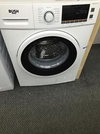 **JANUARY SALE** New Graded Bush 7kg Washing Machine - White