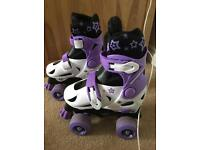 Adjustable Quad Skates 11-13