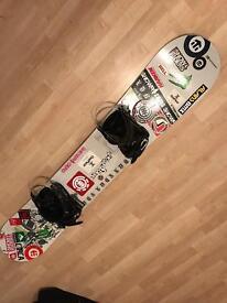 N-gage edition snowboard 155cm