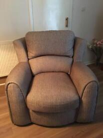Large Armchairs x 2 For Sale