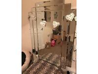 Art decor vintage mirror