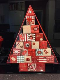 Marks & Spencers Christmas Advent Calender £150