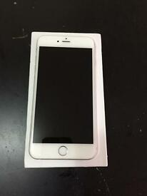 Apple iPhone 6 Plus 128gb white/silver. Excellent condition