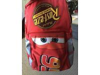 Lightning McQueen/cars backpack