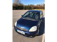 TOYOTA YARIS 1.3vvti 54 reg 2005 mint inside out GREAT CAR FOR 1st TIME DRIVERS.