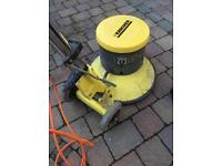 Karcher floor buff cleaner with heads