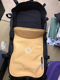 Bugaboo Cameleon Carry Cot - Black /Yellow