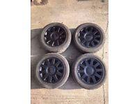 4 Audi Alloys Speedline - 5x112 - With Tyres