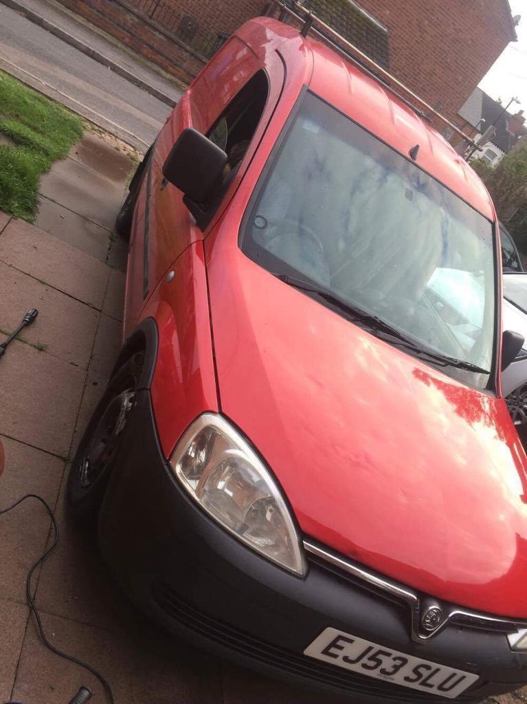 Vauxhall combo van Duel Fuel