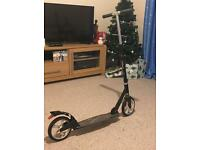 Adult black push scooter