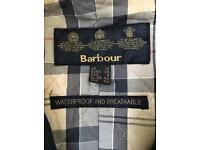 Barbour women's size 12 waterproof and breathable winter coat