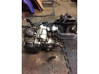 Kmx 125 engine