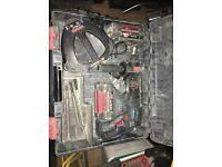 Bosch 36v sds and 2x 2.6ah batteries 3 mode £180