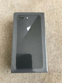iPhone 8+ Plus 256gb, sealed brand new unopened space grey