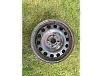 BMW Mini pair of steel wheels 15x5.5J