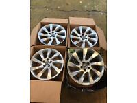 "18"" VOLVO R LINE ALLOY WHEELS SET OF 4"