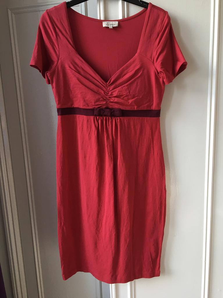 Size 12 maternity dress from Next
