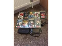 Psp console with 9 games