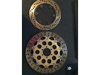 Ducati Monster Front and Rear brake discs