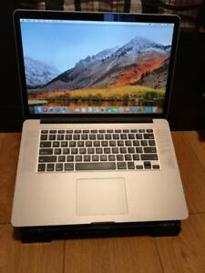 15 Inches Macbook Pro 2015 i7 processor, 16 GB RAM, 256 SSD