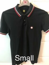 Men's pretty green polo small