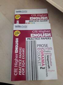 Higher English Study Guide and Practice Papers
